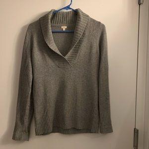 J. Crew V-neck sweater, S